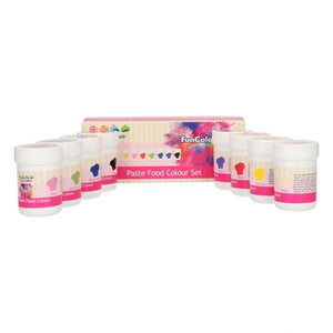 Kit de 8 colorants pâte, concentrés, FUNCAKES