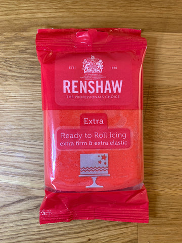 Renshaw extra rouge pompier 250g