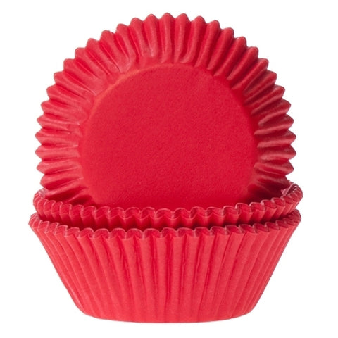 House of Marie Caissettes à Cupcakes Rouges Red Velvet x50