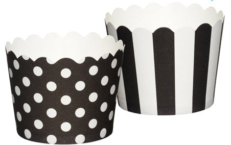 Kitchen Craft Caissettes à cupcakes mini noires x20