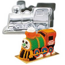 Wilton moule train 3D