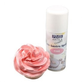 PME Spray alimentaire rose 100ml