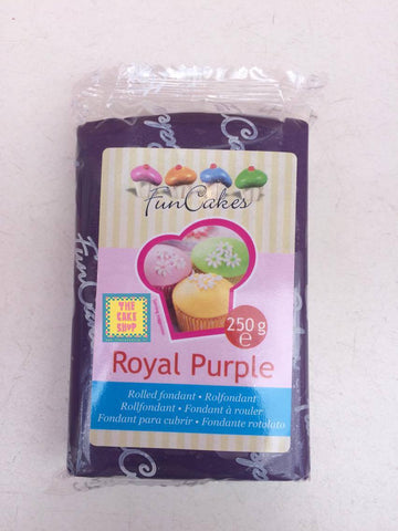 Royal Purple - pâte à sucre