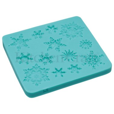 Kitchen Craft - Moule en silicone - Flocons de Neige