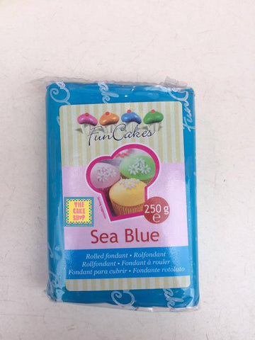 Sea Blue - pâte à sucre