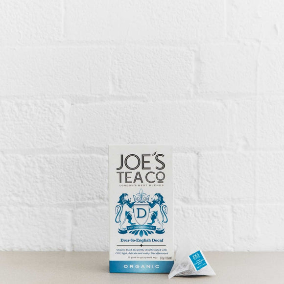 Organic Ever-So-English Decaf Tea