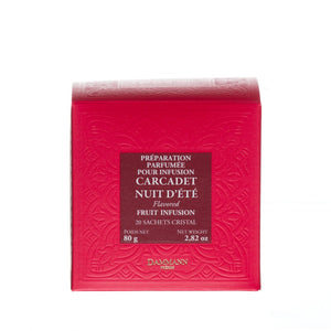Dammann Frères Fruit Infusion - Summer Nights Tea - 26 Cristal® Sachets