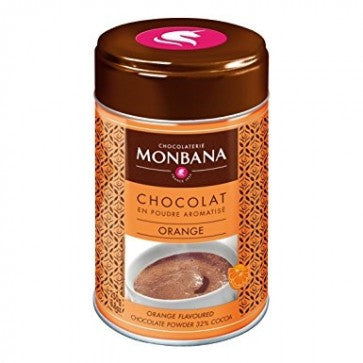 Monbana Orange Chocolate Powder - 250g - Vanilla Chef