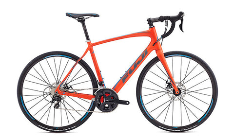 Fuji Gran Fondo Disc 2.5 17 Satin Red 56cm