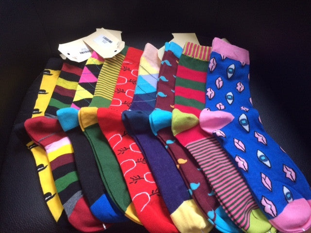 Shock Socks ladies and mens size 7.5-12