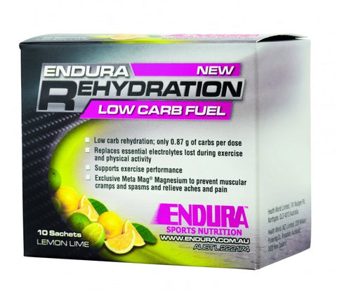 Endura Low Carb Rehydration Fuel Sachets