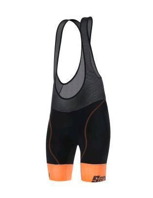 Santini Wave Bibshorts Ladies C3W Orange