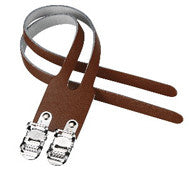 VP Leather Toe Straps Double