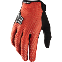 Fox Attack Gloves Red MD