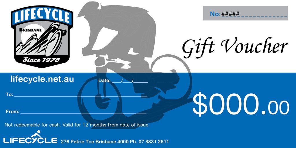 Lifecycle Gift Voucher
