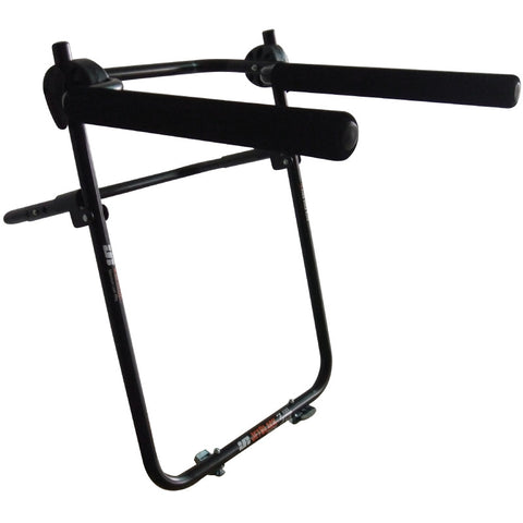 Jet Black 3 Bike Tyre Rack