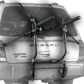 Jet Black 3 Bike Trunk Rack
