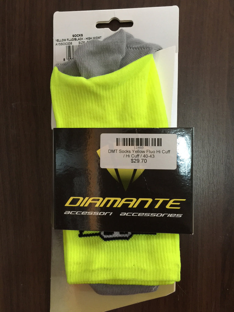 DMT Socks Yellow Fluo