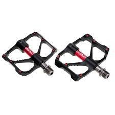 Lixada Pedals MTB/Commuter Sealed bearing Red