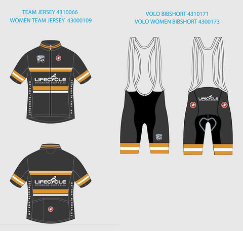 Castelli Team Jersey Lifecycle Shop Kit Women's 2016/2017