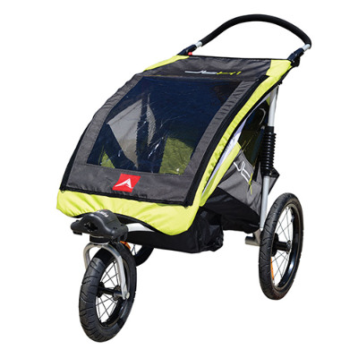 Allen JTX1-G Single Trailer Jogger - Alloy
