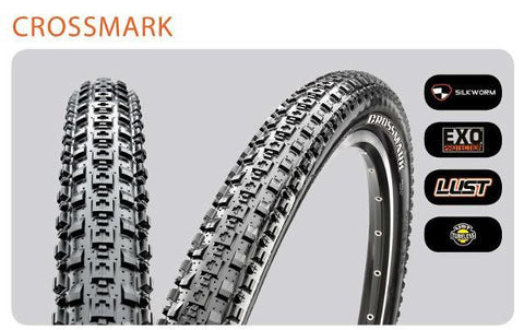 Maxxis Tyre Crossmark 26x2.1 Kev Tubeless Ready
