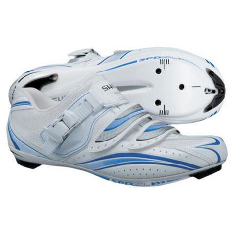 Shimano Shoe WR61 Road White/Blue