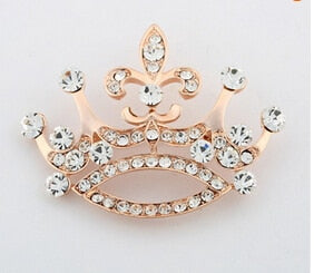 Imperial crown brooch