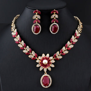 Gold-plated Indian set