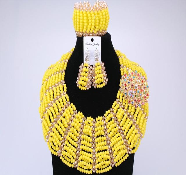 Benin Queen Beads Yellow Set