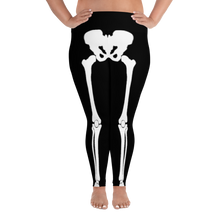 Load image into Gallery viewer, Women's Plus Size Skeleton Leggings