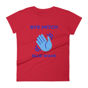 BYE MITCH / Women's Short Sleeve T-shirt