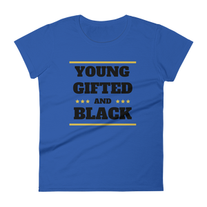 YGB (BLK) / Women's Short Sleeve T-shirt