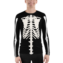 Load image into Gallery viewer, Guys' Skeleton Rash Guard