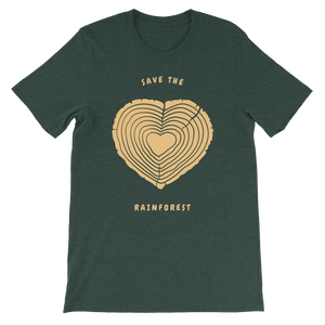 Show Your Love for the Amazon Rain Forest / Unisex Short-Sleeve T-Shirt