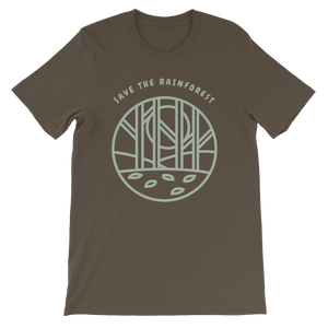 Help Save the Amazon Rain Forest / Short-Sleeve Unisex T-Shirt