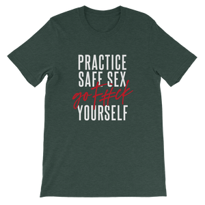 Practice Safe Sex / Unisex Short-Sleeve T-Shirt