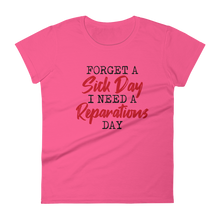 Load image into Gallery viewer, Reparations Day / Women's Short Sleeve T-shirt