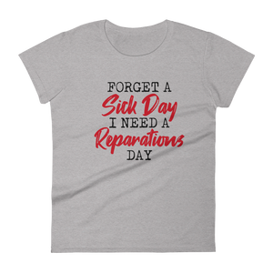 Reparations Day / Women's Short Sleeve T-shirt