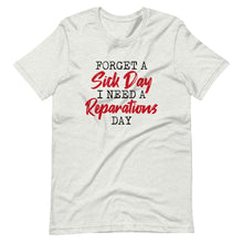 Load image into Gallery viewer, Reparations Day / Unisex Short-Sleeve T-Shirt