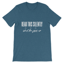 Load image into Gallery viewer, Read This Silently / Unisex Short-Sleeve T-Shirt