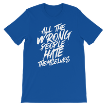 Load image into Gallery viewer, All The Wrong People Hate Themselves / Unisex Short-Sleeve T-Shirt