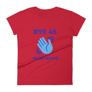 BYE 45 / Women's Short Sleeve T-shirt