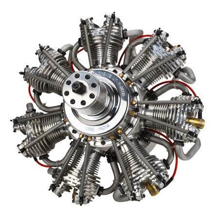 Evolution 7-Cylinder 260cc 4-Stroke Gas Radial Engine