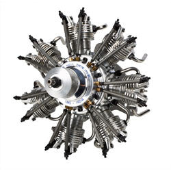 Evolution 7-Cylinder 35cc 4-Stroke Glow Radial Engine