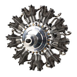 Evolution 9-Cylinder 99cc 4-Stroke Glow Radial Engine