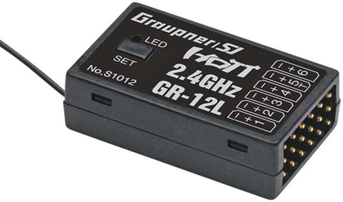 Graupner GR-12L 6-Channel HoTT Telemetry Receiver