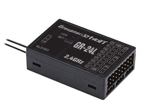 Graupner GR-24 12-Channel HoTT Telemetry Receiver