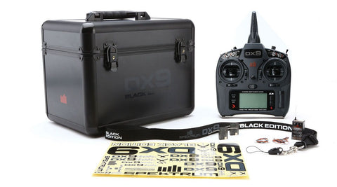 DX9 Black Edition 9-Channel DSMX® Transmitter with AR9020 Receiver