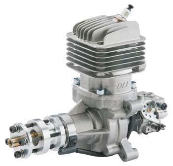DLE-35cc Rear Exhaust Gas Engine w/EI & Muffler